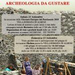IX GIORNATA DE PATRIMONIO ARCHEOLOGICO DELLA VALLE DI SUSA