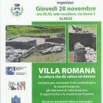 Serata villa romana Novembre 2013