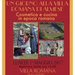 VILLA ROMANA Giornata 01 Maggio